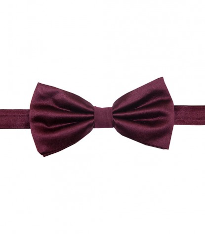 Ties Roma Silk Red Bordeaux