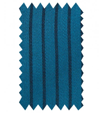 Hemden Beatrice Satin Seaport-Blau Schwarz