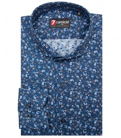 Shirt Napoli Cotton Light BlueBlue