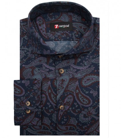 Shirt Napoli Jeans BlueBrown