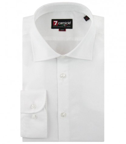 Shirt Firenze Satin White