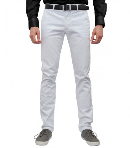 Trousers Titanium White