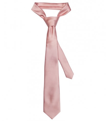 Tie Trevi Polyester Pink