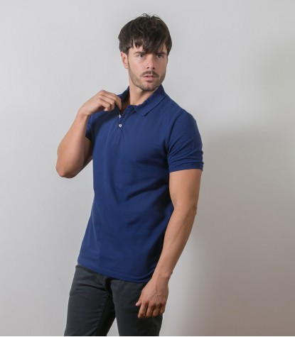 Polo Blu Piquet