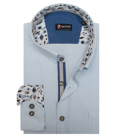 Shirt Romeo Super oxford WhiteBlue