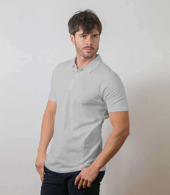 Light Grey Polo Shirts