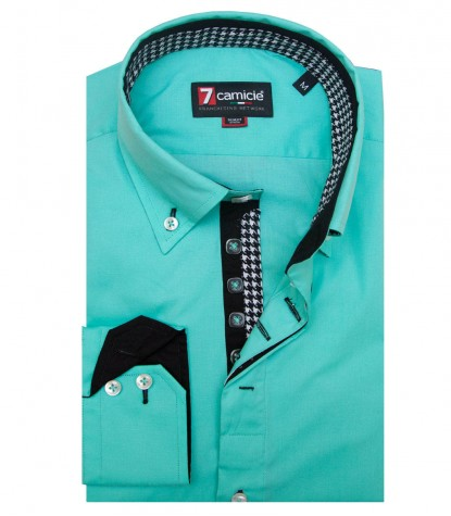 Shirt Roma Water Green
