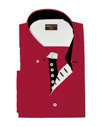 Shirt Marco Polo Cotton Polyester Red