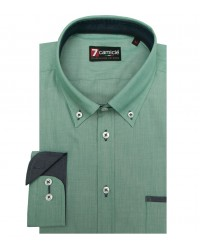 Shirt Leonardo Cotton Green