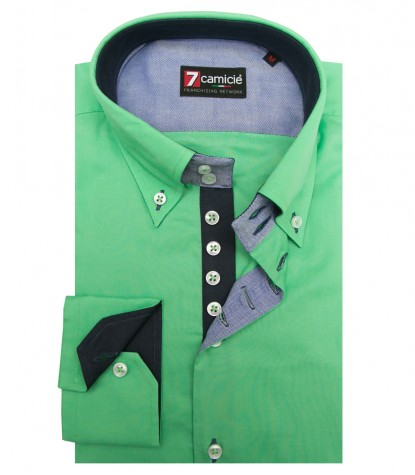 Shirt Roma Cotton Green