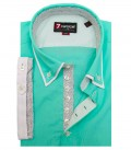 Shirt Leonardo poplin Water Green