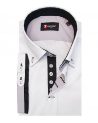 Shirt Marco Polo poplin White