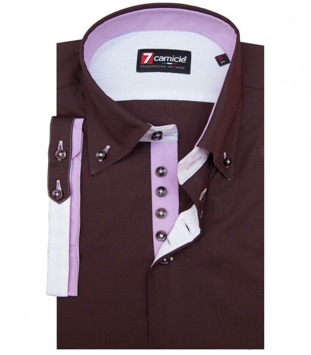 Shirt Marco Polo Brown