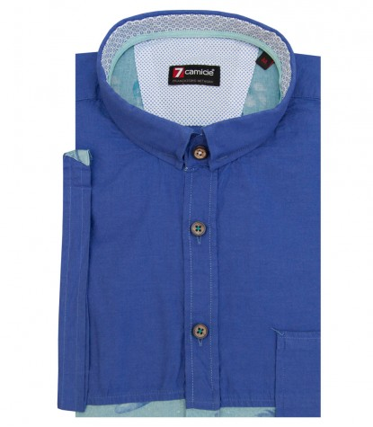 Shirt Romeo Super oxford Blue Avion