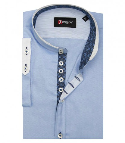 Shirt Caravaggio twill Light Blue