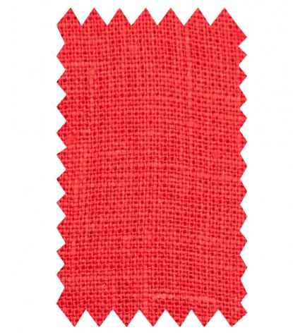 Chemises Hawaii Lin corail