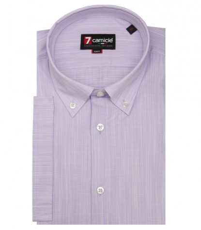 Shirt Leonardo Cotton Lilac
