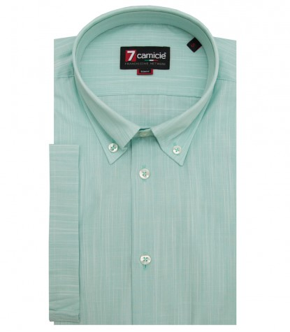 Shirt Leonardo Cotton Water Green