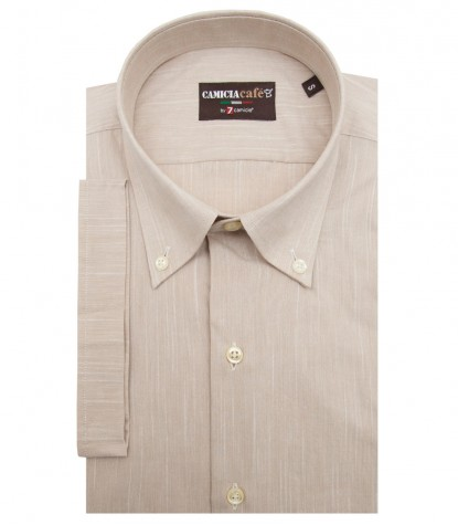 Shirt Leonardo Cotton Polyester Off White