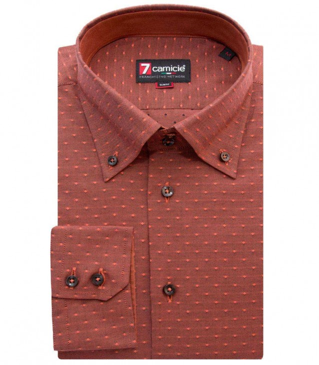 Shirt Roma Brick Orange Dark Orange