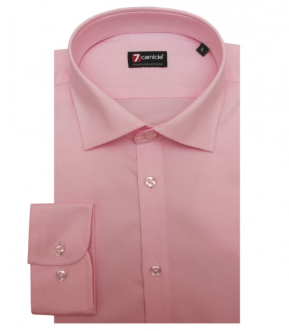 Shirt Florence stretch cotton Pink