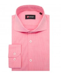 Shirt Firenze Cotton Light Red White