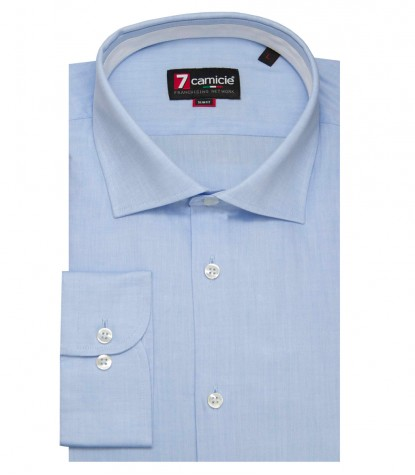 Shirt Firenze Weaved Light Blue