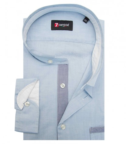 Shirt Caravaggio Super oxford Ink Blue