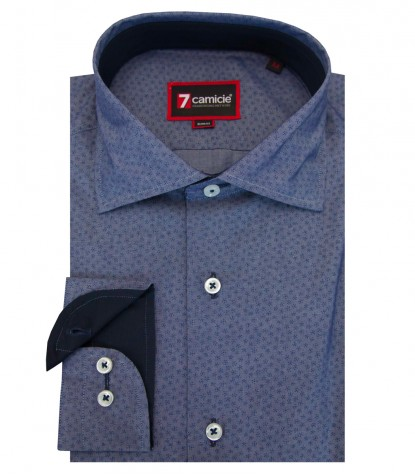 Shirt Firenze Cotton BlueBluette