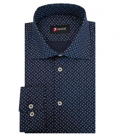 Shirt Firenze Super oxford BlueBluette