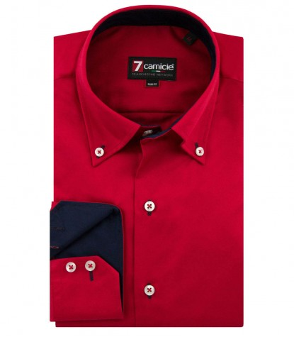Shirt Roma Satin Red