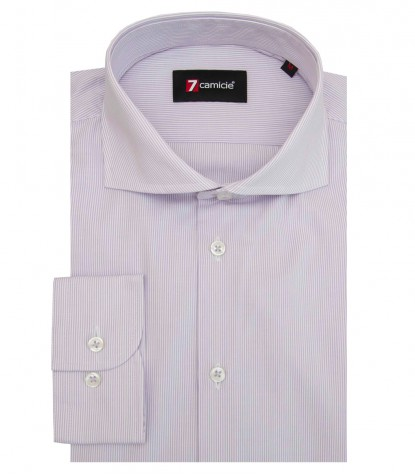 Shirt Firenze Cotton WhiteLilac