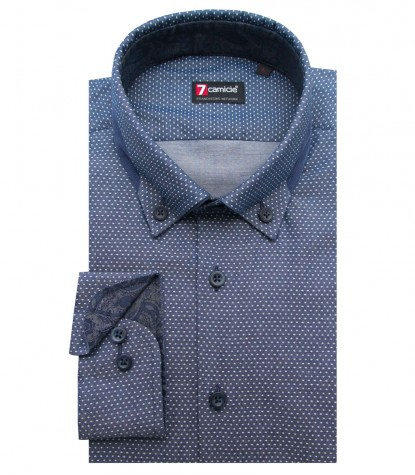 Shirt Donatello Jeans Light Blue White
