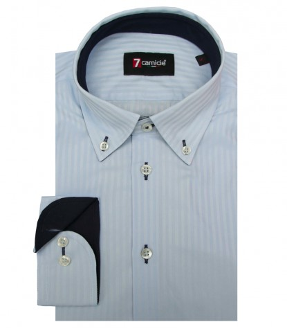 Shirt Leonardo Cotton Lite BlueLite Blue