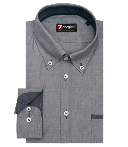 Shirt Leonardo Cotton Blue