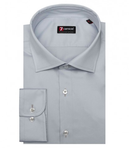 Shirt Firenze Satin Grey