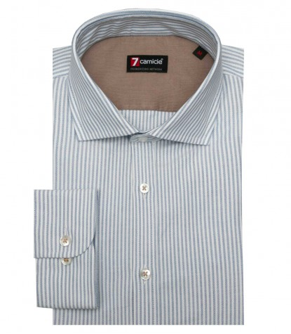 Shirt Raffaello Oxford WhiteBlue