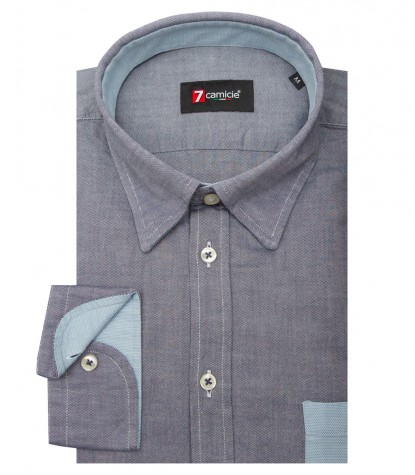 Shirt Leonardo Oxford Blue
