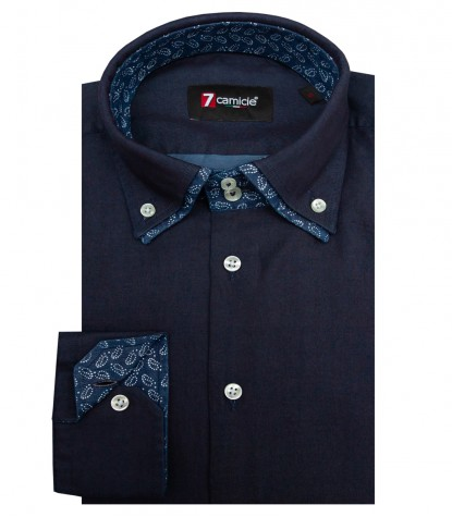 Shirt Marco Polo Cotton Blue