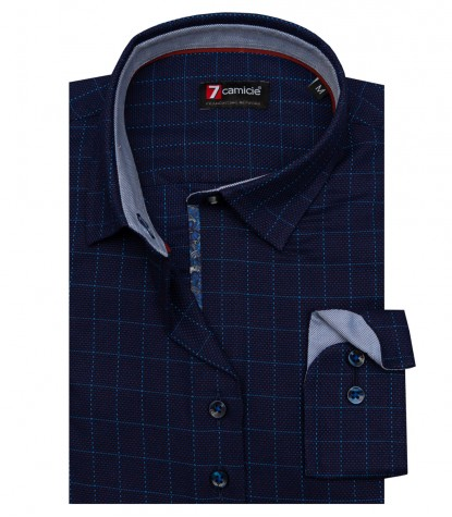 Shirt Linda Cotton Dark Blue Avion