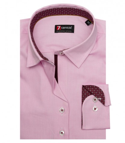 Camicia Linda Super oxford Rosa