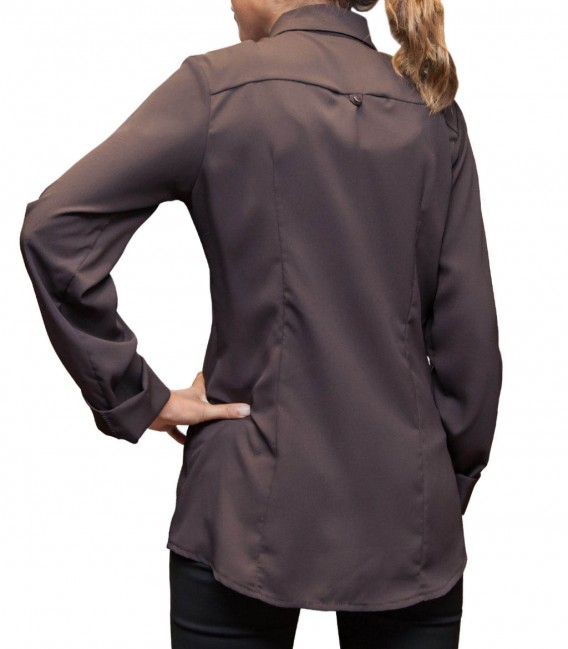 Shirt Giulietta Polyester Brown