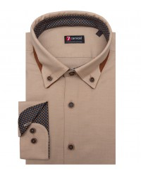 Shirt Donatello Oxford Beige