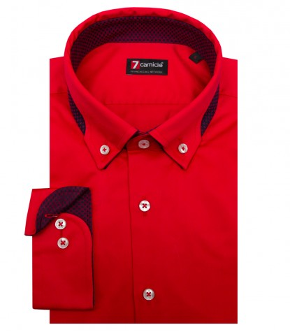 Shirt Donatello Satin Red