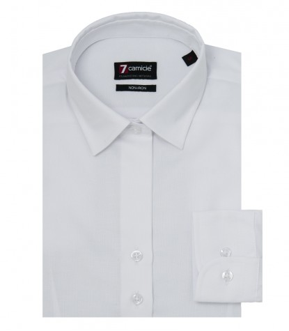 Chemises Linda Oxford blanc