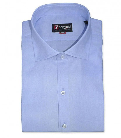 Shirt Firenze Light Blue Twill