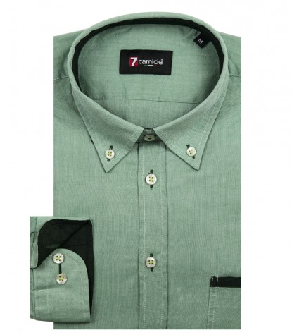 Shirt Leonardo Oxford Green