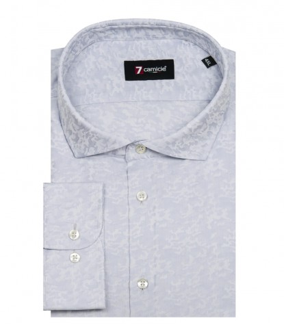 Shirt Firenze jacquard Light GreyLight Grey