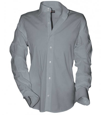 Shirt Dante Satin Grey