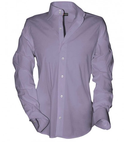 Shirt Dante Satin Liliac